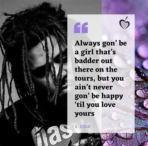 He had to overcome some hardships growing up. Quote of the Day (J. Cole) in 2020 | J cole quotes, Quotes, J cole