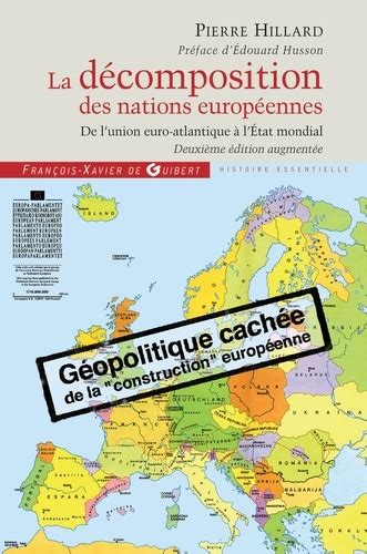 la decomposition des nations europeennes de de pierre