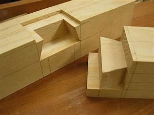 Japanisch Holzverbindung Holz und Design