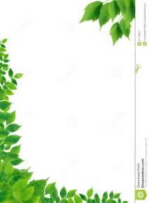 Green Leaf Border Clip Art