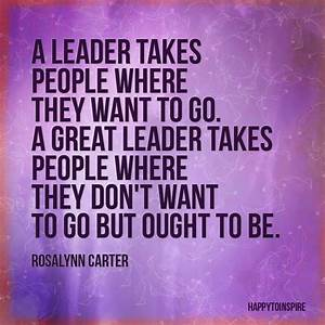 Company Of Great Leadership Quotes Inspirational Quotes ...