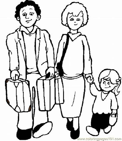 Coloring Pages Printable Jobs Members Families Sheets
