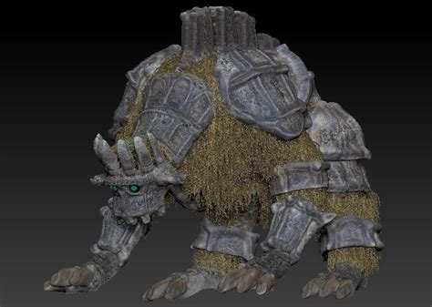 Animal Monster Shadow Of Colossus 3d Hd Cgtrader