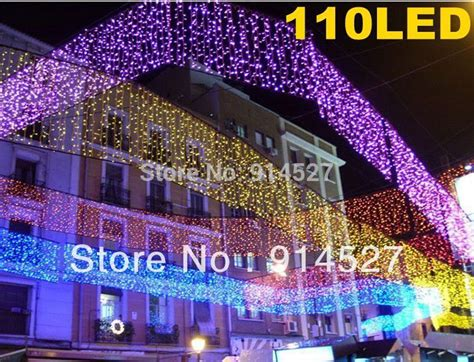 quality outdoor purple 110 led 4m icicle lights