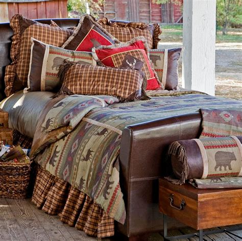 Cabin Bedding by Deer Mountain Bedding Collection Cabin Place