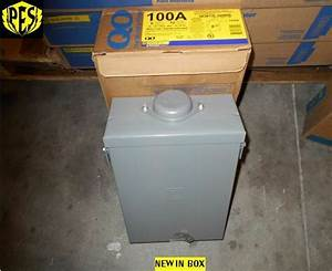 Nib Square D Qo612l100rb 100 Amp Single Phase N3 Outdoor