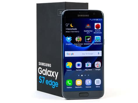 samsung review samsung galaxy s7 edge smartphone review notebookcheck