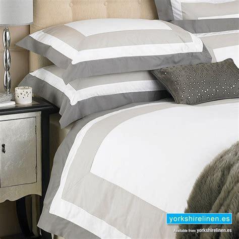 Cambridge Taupe Cotton Duvet Cover Set Yorkshire Linen