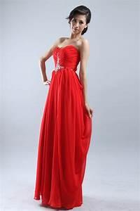 Robe Rouge Mariage Invité : robe pour mariage rouge ~ Farleysfitness.com Idées de Décoration