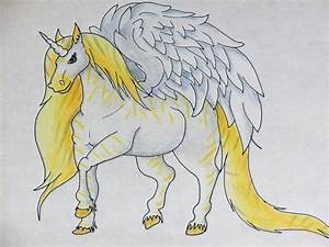 Draw to Adopt: Unicorn with Wings by Tankmanda on DeviantArt