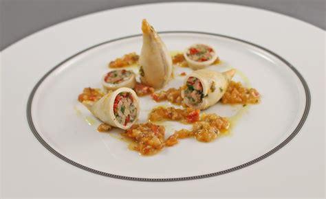 encornet cuisine recette d 39 encornets farcis par alain ducasse