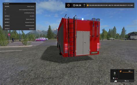 LS 17: Scania HLF v 1.0 Feuerwehr Mod für Landwirtschafts