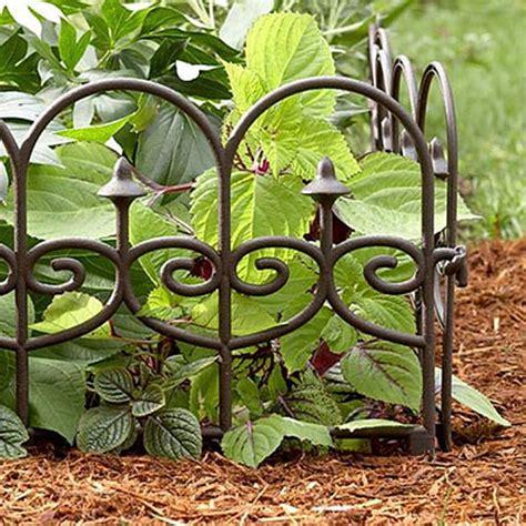 Dekoelemente Garten by Garden Wrought Iron Split Rail Fencing Wire Fence Edging