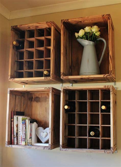 caisse a vin d 233 coration 233 cologique avec une ancienne caisse bois