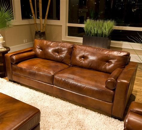 brown sofa living rustic dim brown leather sofas fantastic expense for warm