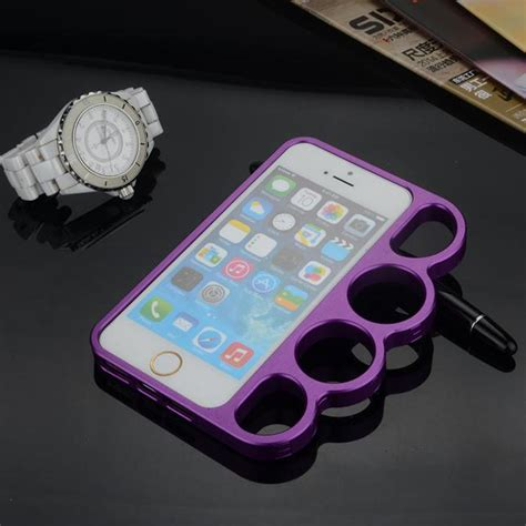 cool moon light iphone 6s cool portable finger rings metal knuckle frame for