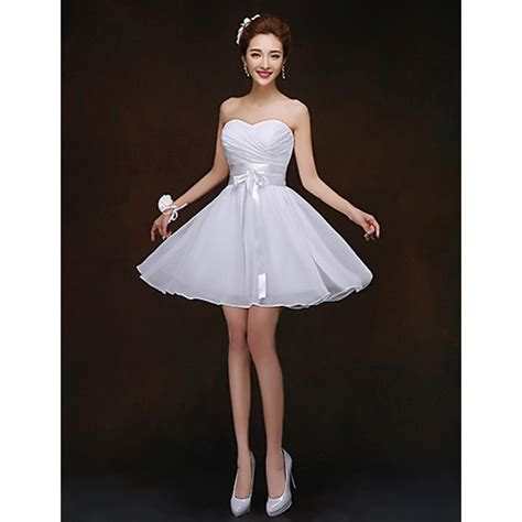 shortmini bridesmaid dress white sheathcolumn
