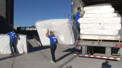 the mattress el paso tx 195 mattresses donated to rescue mission of el paso kfox