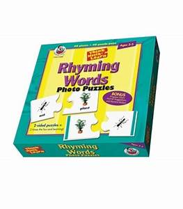 rhyming words floor puzzle carson dellosa publishing With rhyming words for floor