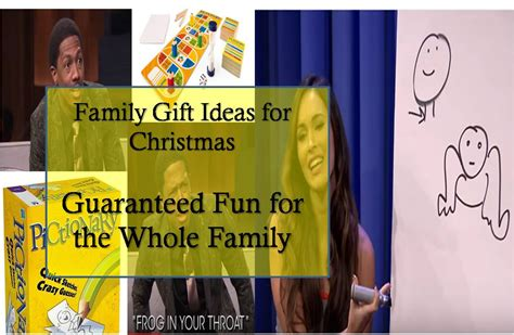 best gift idea family gifts for christmas whole family