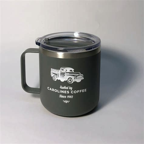 Carolines coffee roasters not only offers fabulous coffee but come in and try our diverse selection of bagged and whole leaf teas from all over the world. Carolines Camper Mug, Grey | Caroline's Coffee