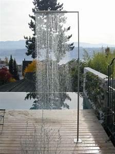 Douche Extérieure Inox : 70 id es inspirantes pour le design de la douche de jardin ~ Premium-room.com Idées de Décoration