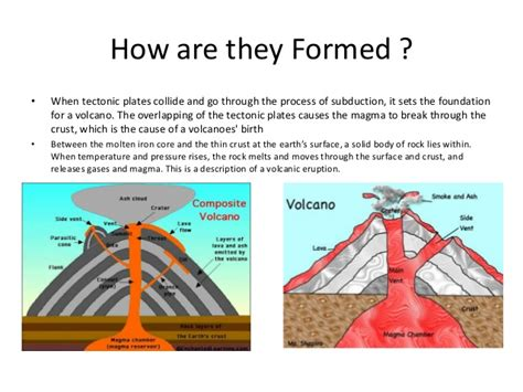 how is lava formed volcanoes powerpoint