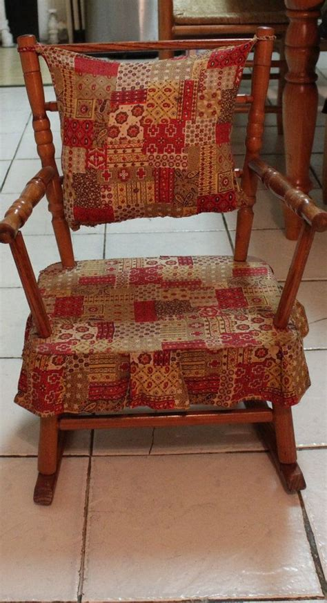 antique child rocking chair woodworking projects plans