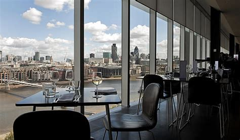 the view from the tate modern restaurant visitlondon