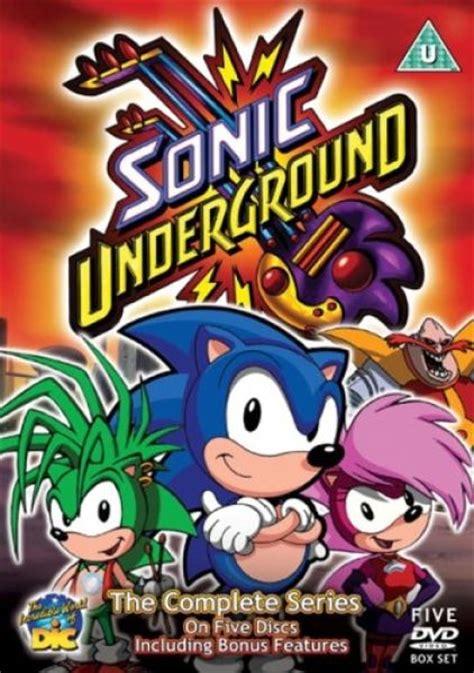 sonic underground  complete series dvd zavvi