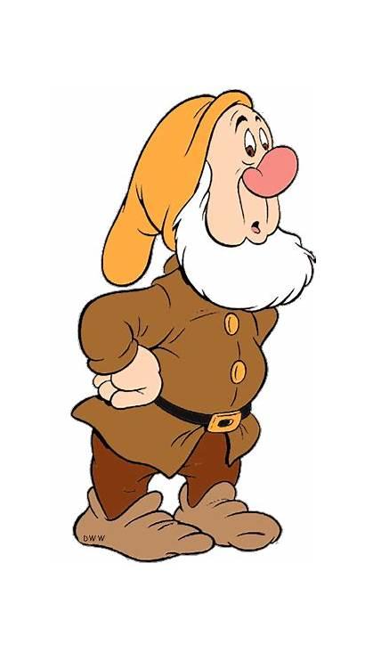Sneezy Disney Snow Characters Clip Dwarfs Dwarf