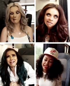 Little Mix Funny Faces