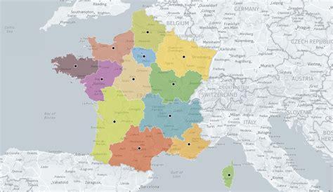 Nouvelle Carte De Par Region by L Ign A Trouv 233 Le Centre G 233 Ographique Des 13 Nouvelles