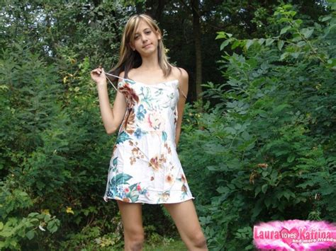 Young Looking Amateur Flashes Her Upskirt Panties While