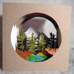 Mit tonkarton und irisierendes papier verwandeln wir die. Die 44 besten Bilder von 3D Papercraft   Papierskulpturen ...