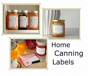 Canning tips for beginners recipe pocket change gourmet for Home canning labels