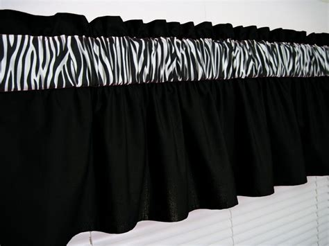 Solid Black And Zebra Print