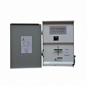 Ez-connect Transfer Switch 200 Amp Whole Home With Inlet For Generator-ezc-mr-200