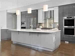 simple design of small kitchen ideas with dark grey shaker With best brand of paint for kitchen cabinets with wall art san diego