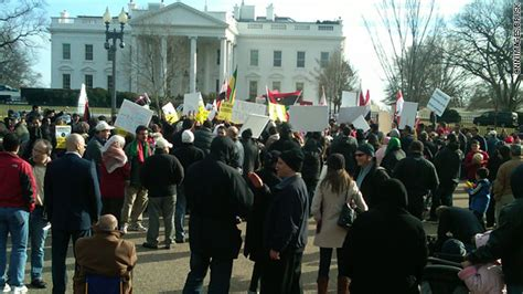 white house protest photo protesters gather outside the white house cnn