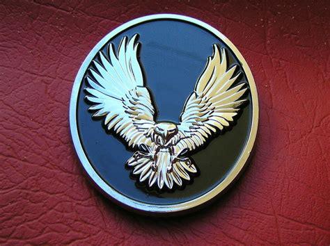 American Eagle Harley Davidson Emblem Chrome Metal *new