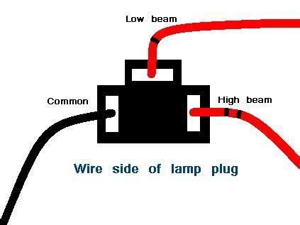 H4 Halogen Bulb Wiring Diagram by Led Headlight Conversion Triumph Forum Triumph Rat