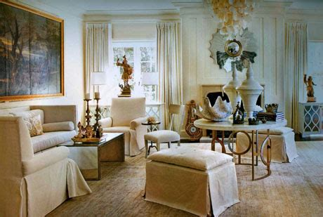 classic neutral living room design