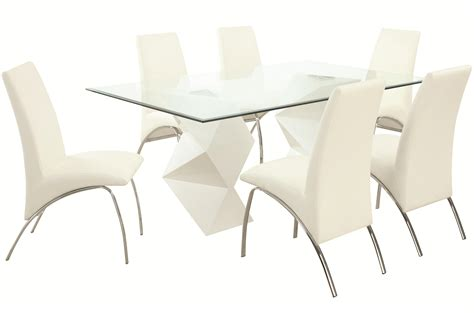 ophelia contemporary  piece dining set