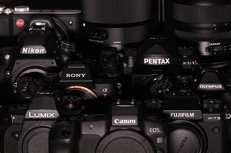 2019 Camera And Lens Manufacturers' New Year's Resolutions