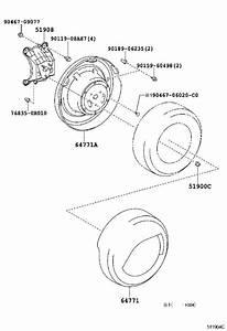 Toyota Rav4 Spare Tire Carrier  Bracket  Spare Wheel Carrier  Body  Spo  Interior