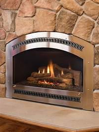stainless steel fireplace surround All About Fireplaces and Fireplace Surrounds | DIY