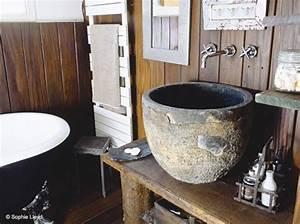 deco salle de bain vasque With salle de bain design avec evier pierre salle de bain