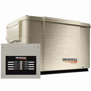 Generac 6998 Powerpact U2122 7 5kw Home Standby Generator