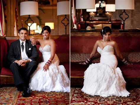 Red And Blue Cleveland Indian Wedding Reception